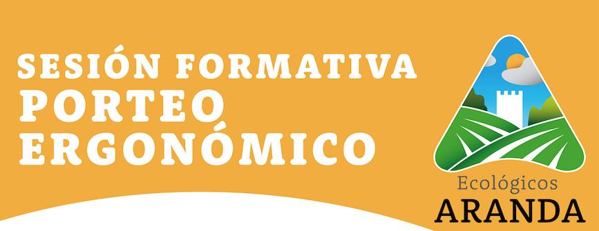 Cabecera Sesión formativa Porteo Ergonómico - Noticias Ecológicos Aranda