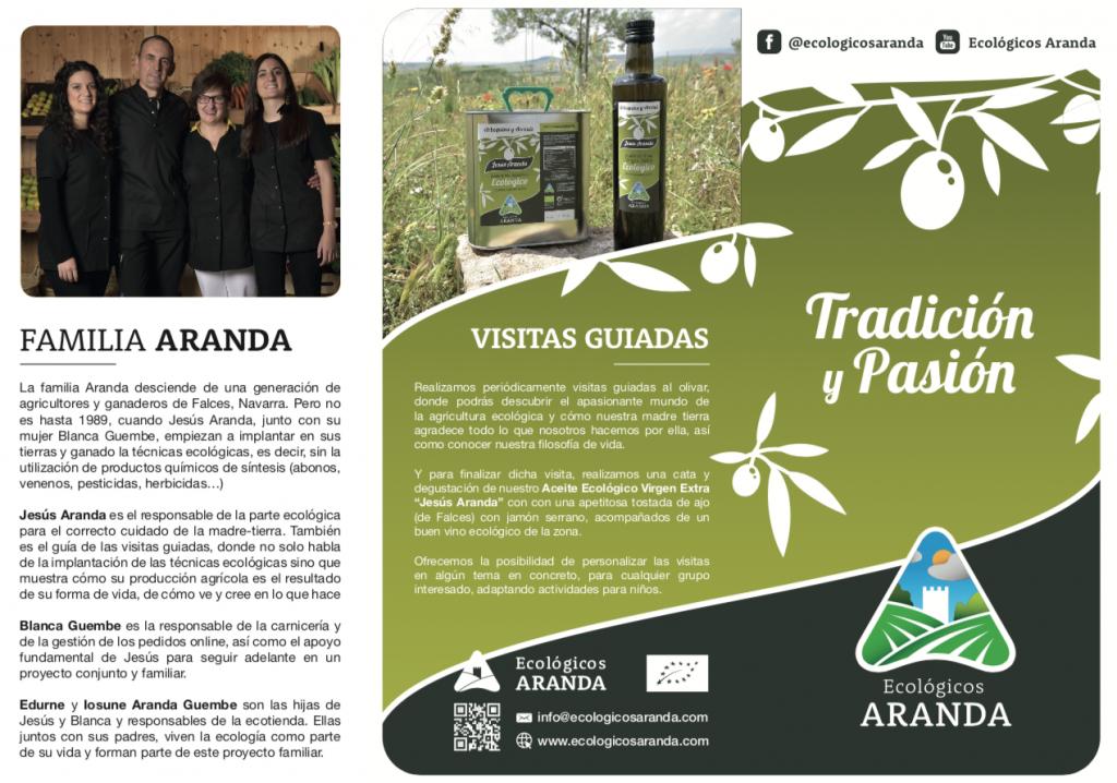 Portada Nuevo tríptico Ecológicos Aranda - Noticias Ecológicos Aranda