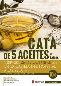 Cartel Cata de Aceite en Falces - Noticias Ecológicos Aranda