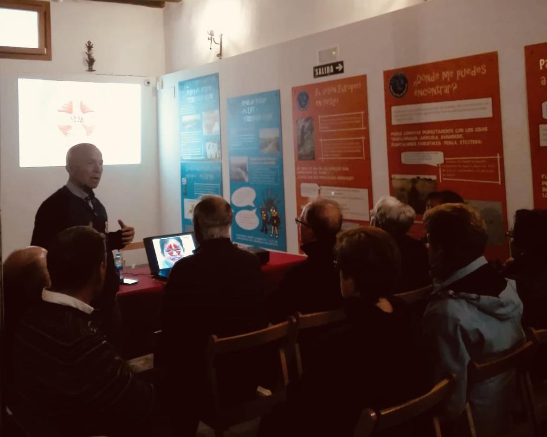 Cabecera Charla sobre el Catarro con Pedro Luquin - Noticias Ecológicos Aranda