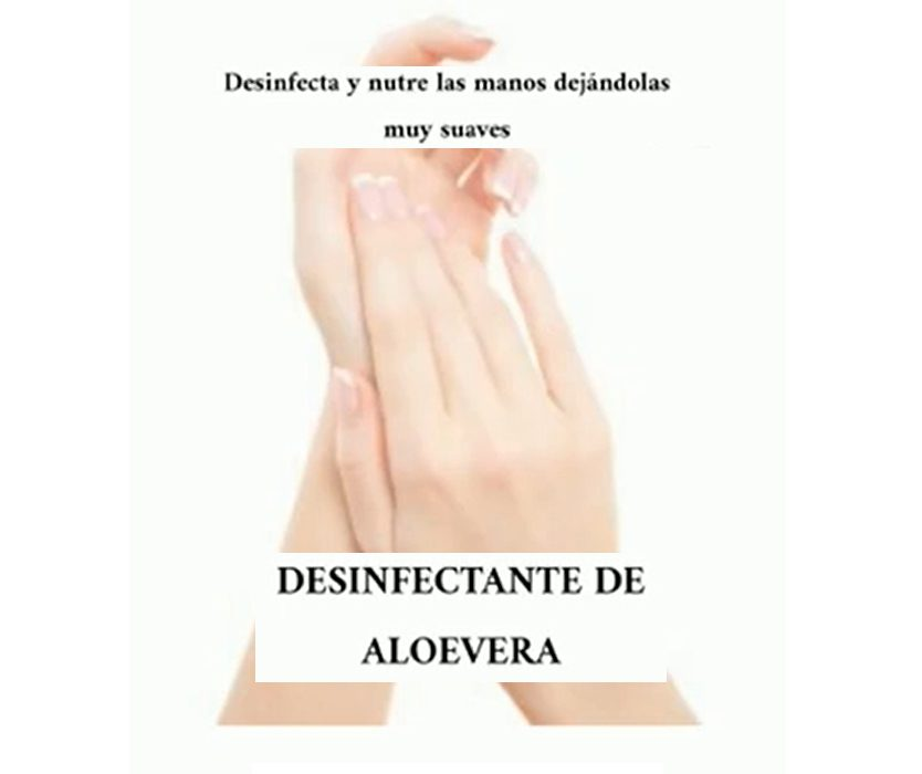 Desinfectante de Aloevera