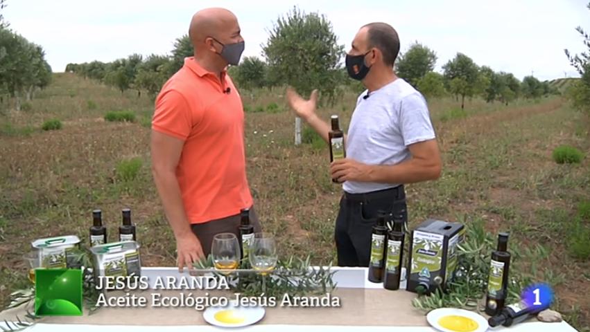 Cabecera Ecológicos Aranda en Aquí la Tierra de TVE - Noticias Ecológicos Aranda