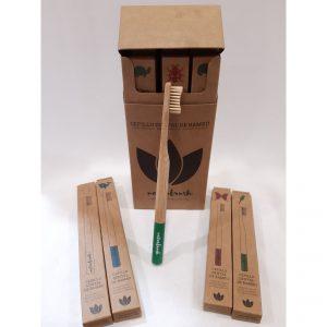 Foto Cepillo Dientes de Bambú para Adultos - Tienda online Ecológicos Aranda