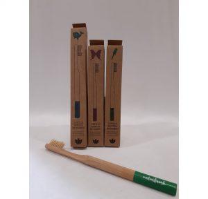 Foto Cepillo Dientes de Bambú para niño/a - Tienda online Ecológicos Aranda